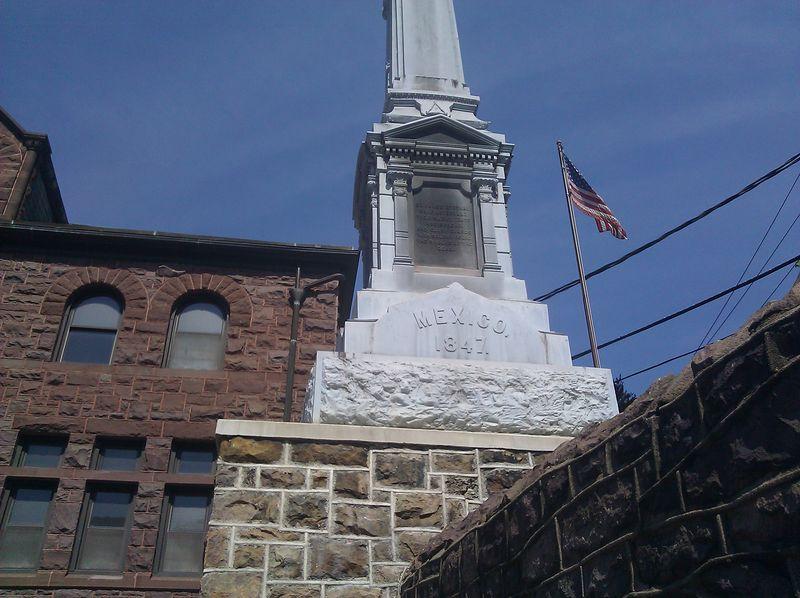 War Memorial honoring Mexican War