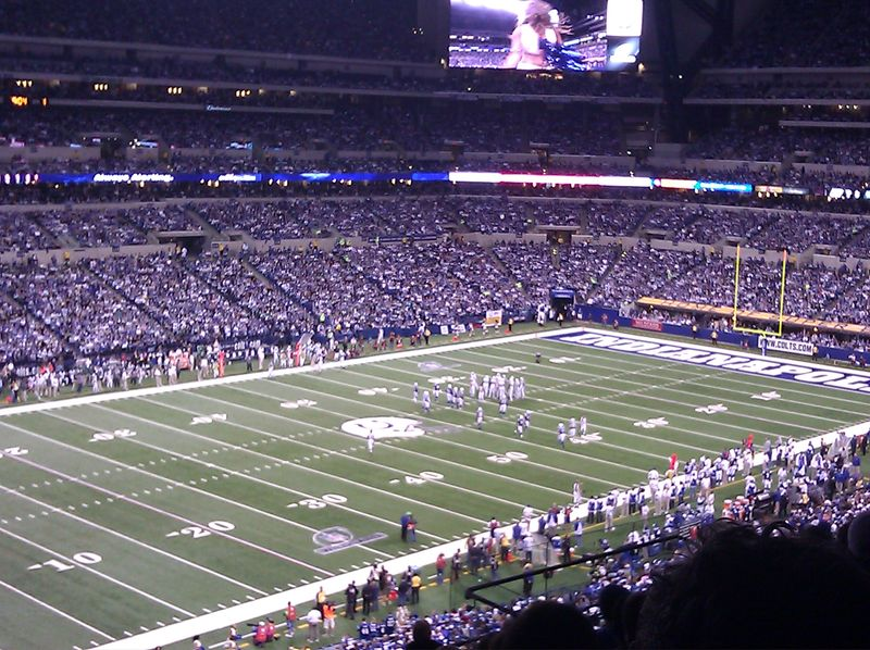 Jets at Colts January 8th 2011