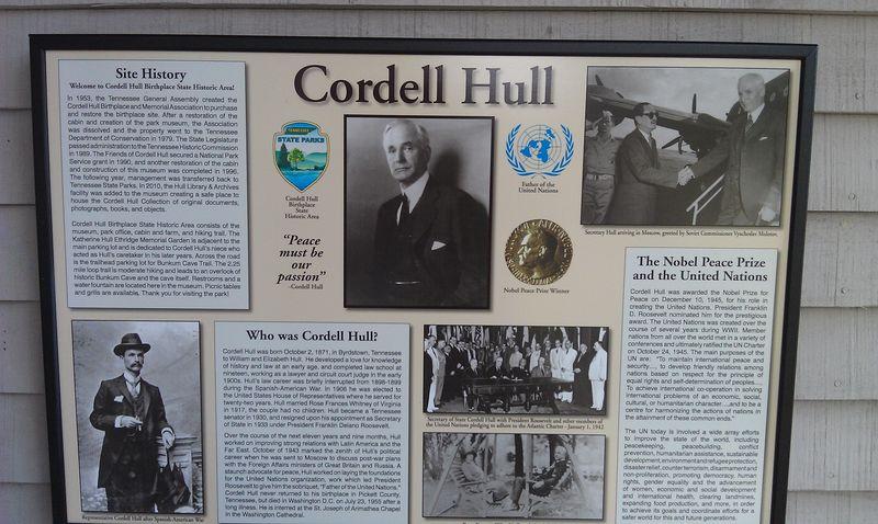 Cordell Hull Info