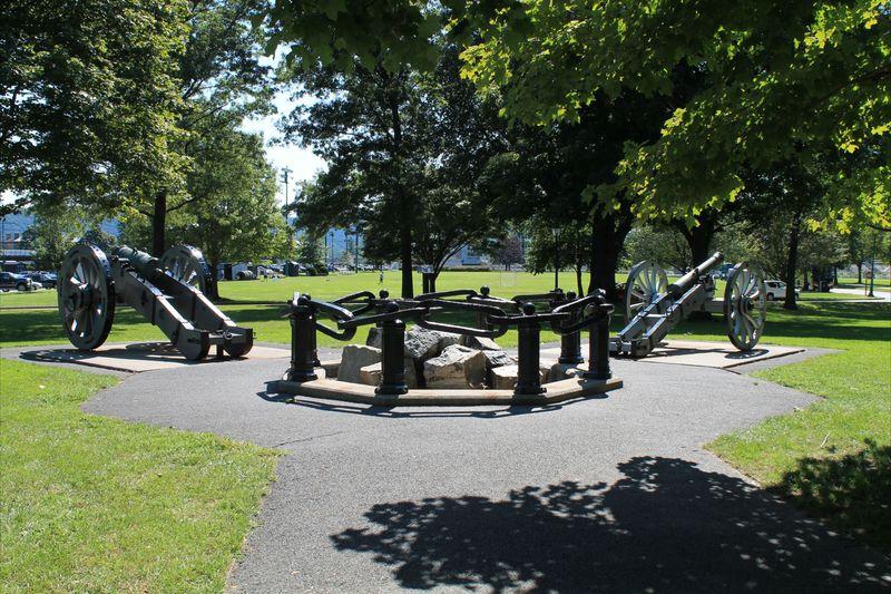 West Point Civil War Cannons