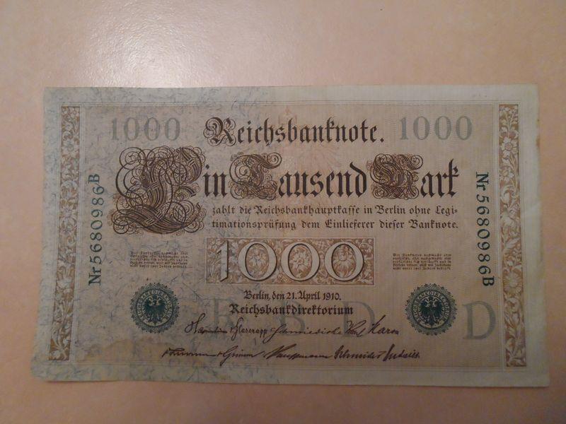 1000 Marks 1910
