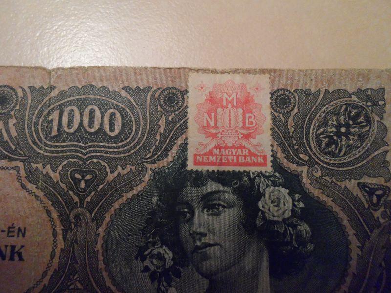 1945 Jul 1000 Pengo Hungary stamp
