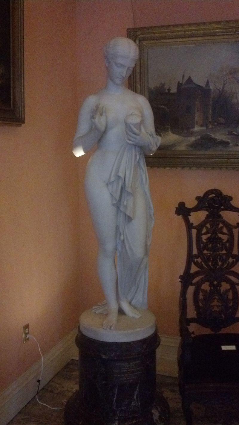 Marble Sculpture in Lambert Castle, Paterson, NJ