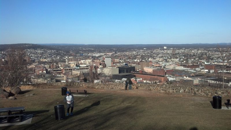 View of Paterson, NJ from Garret Mountain