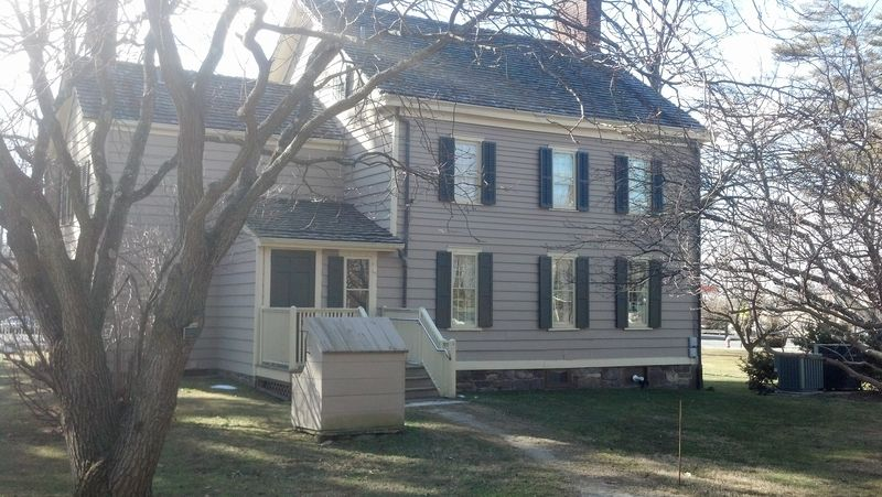 Grover Cleveland House Rear 1-22-2013