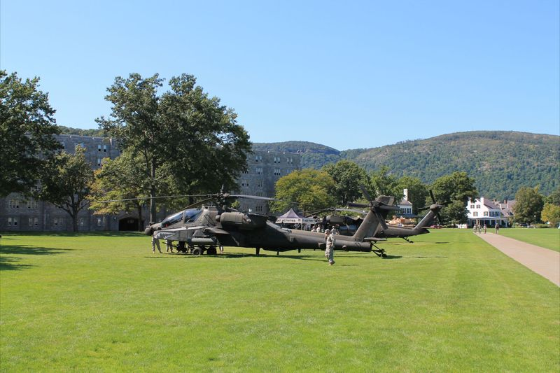 Black Hawk Helicopter at West Point