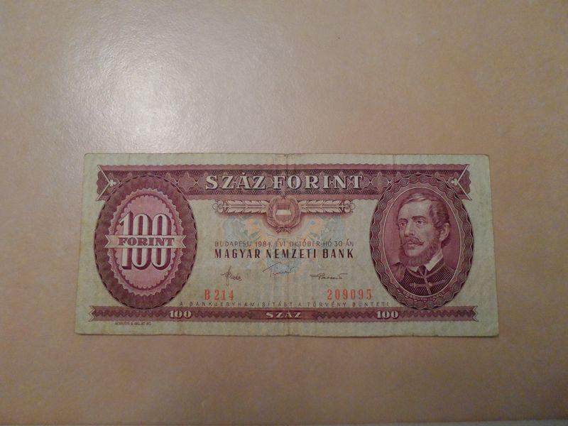 1984 100 Forint Hungary