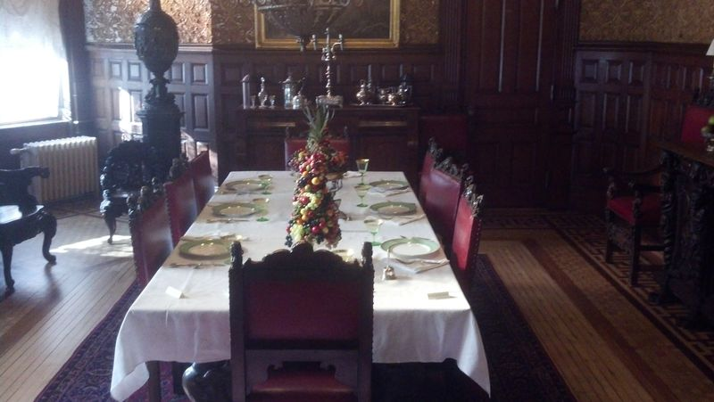 Lambert Castle Dining Room