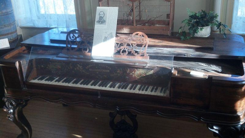 Old Piano Made in USA (Paterson NJ)