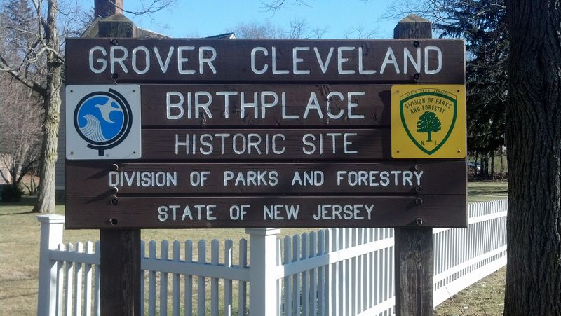 Grover Cleveland Birthplace Sign