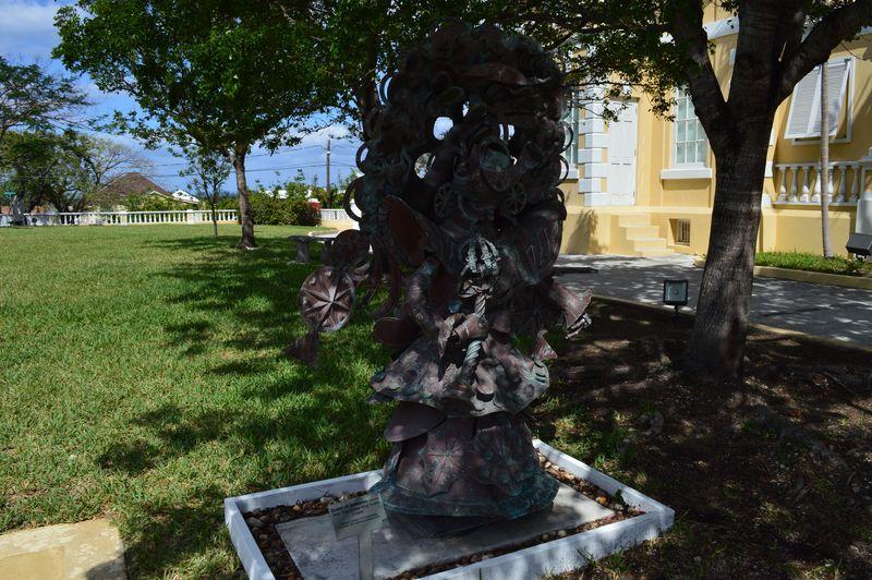 Junkanoo Statue
