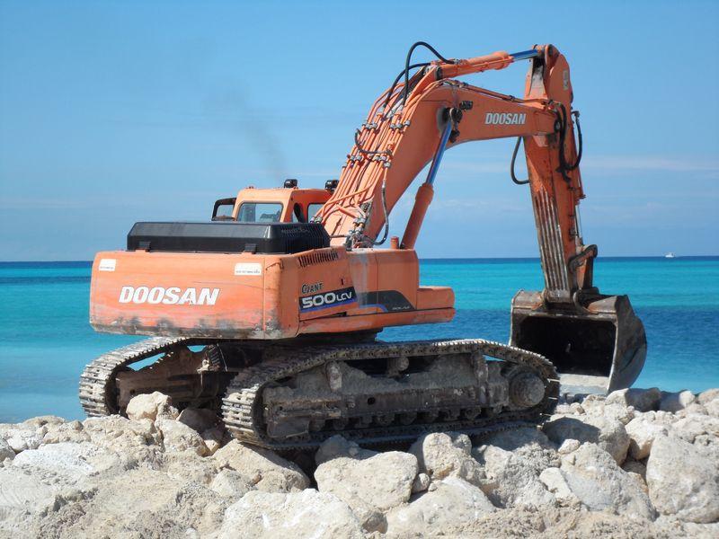 Building a Beach