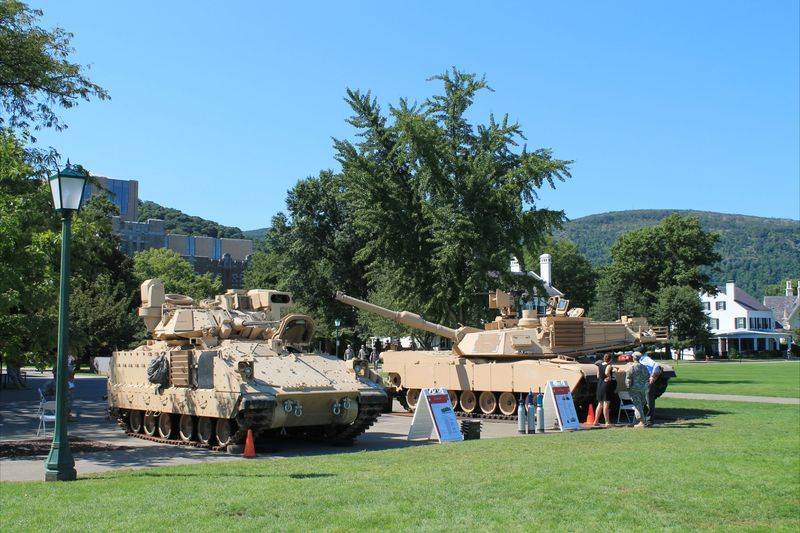 M1 Abrams Tank and Armored Personnel Carrier at West Point