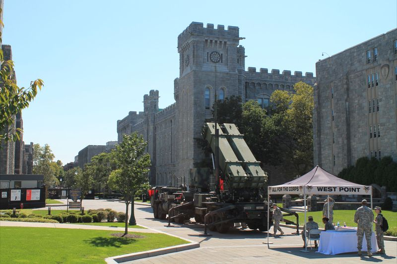 Rocket Launchers on display at West Point