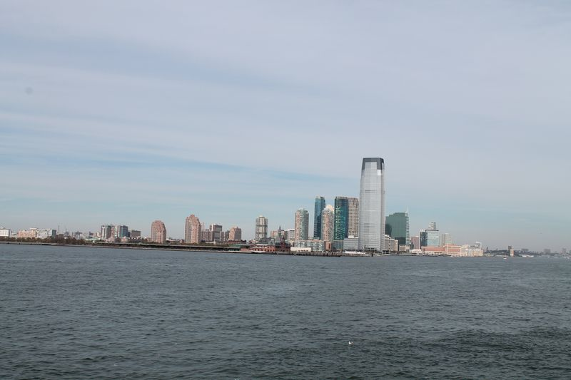 Jersey City, NJ skyline