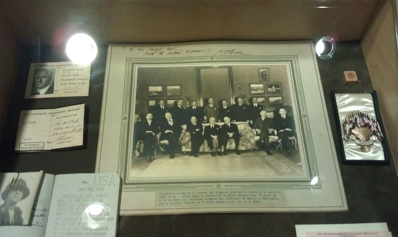 Picture of Cordell Hull with FDR as Secy of State