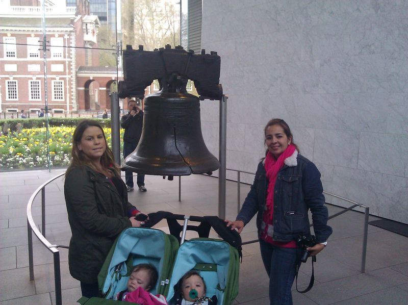 Liberty Bell with Kids