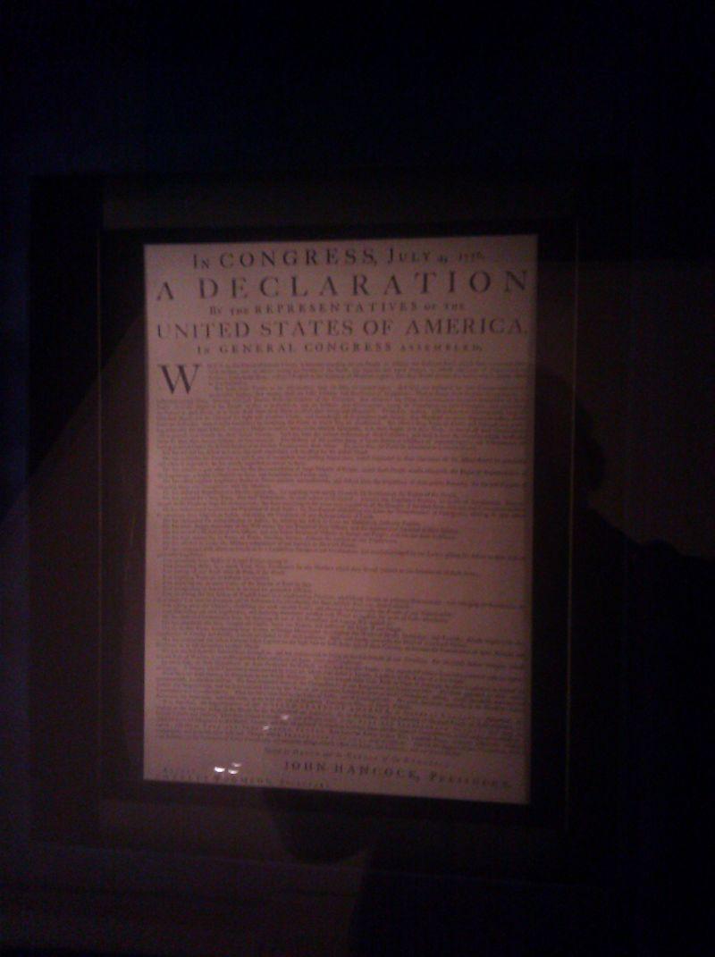 Original of Declaration of Independence